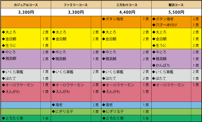 税込_コースメニュー